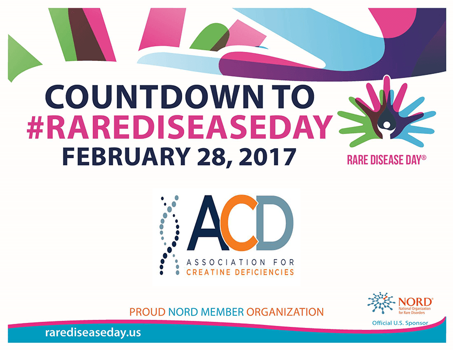 Nord and ACD logos for rare disease day