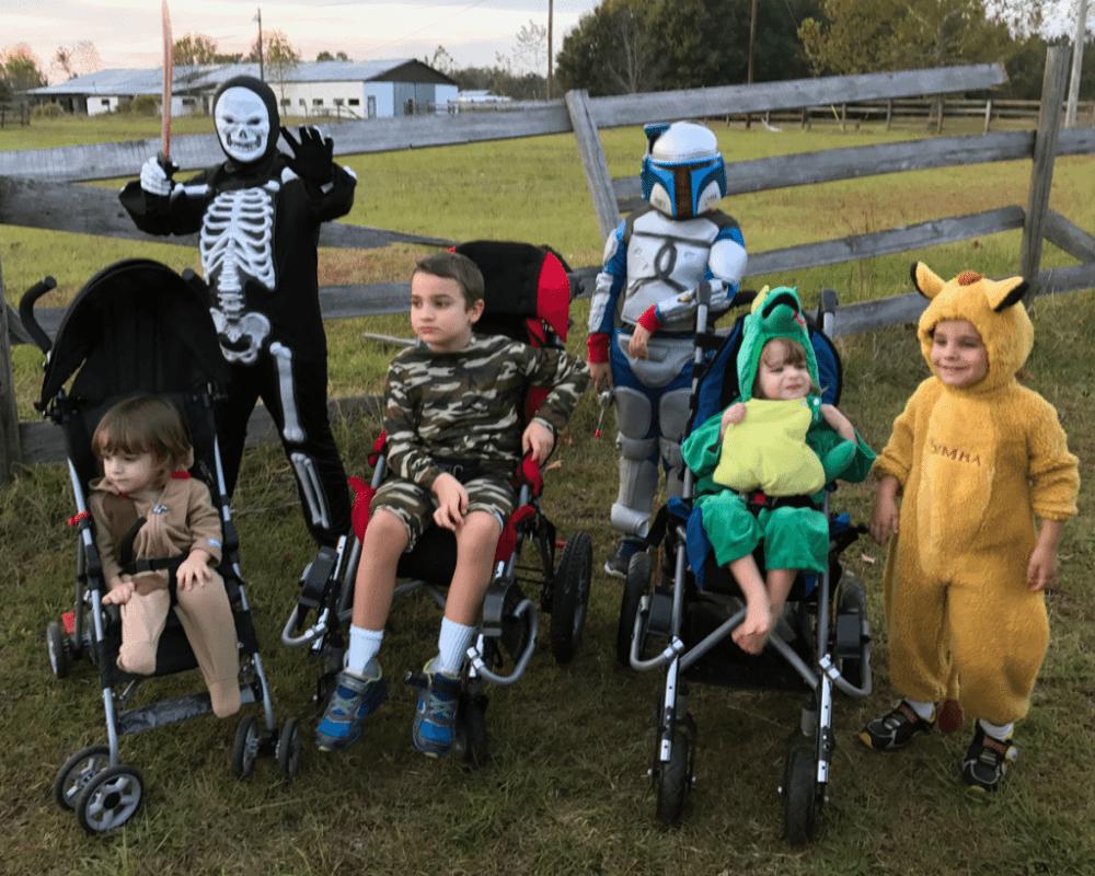 Six Boys Halloween