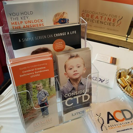 Brochure Display at Medical Conference