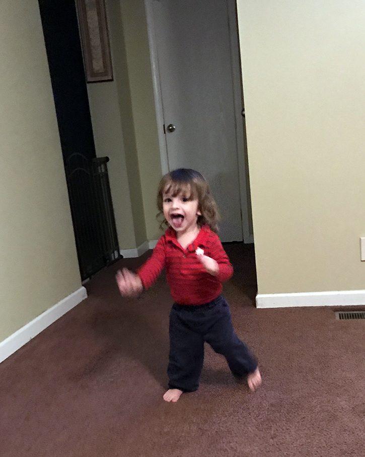 Running Around Excited