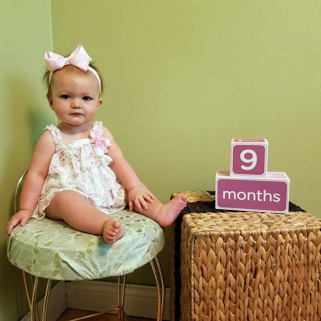 Baby at 9 months